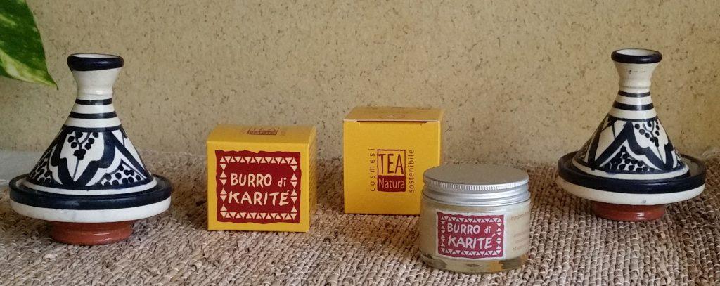 Burro di karitè Teanatura, azienda produttrice di cosmetici e detergenti naturali