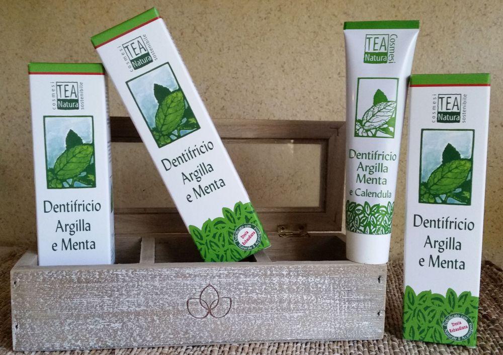 Dentifrici alla Stevia Teanatura